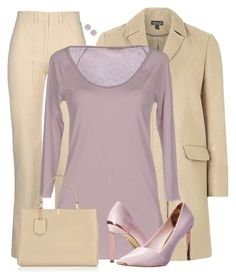 """""""Lilac & Cream"""" by cnh92 ❤ liked on Polyvore featuring мода, Alberta Ferretti, Topshop, Humanoid, Ted Baker, Balenciaga и Kate Spade"""