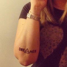 Dreamer tattoo, I love it !