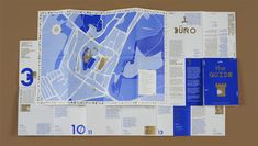 ultrazapping – THE GUIDE – Folded Map of Mikulov, 2012 by Anymade… - Infographic Pamphlet Design, Leaflet Design, Map Design, Book Design, Design City, Leaflet Map, Editorial Design, Hansel Y Gretel, Planer Layout