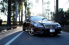 Mercedes Benz S550 with Lexani R-Six
