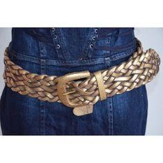 Morgan dámský pásek zlatý T2; belt