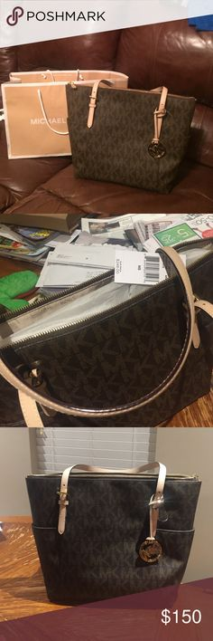 Michael Kors Michael Kors Tote Bag brand new with tags! I am willing to accept reasonable offers. Michael Kors Bags Totes