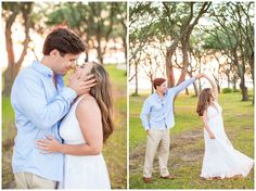 Downtown Wilmington & Wrightsville Beach, North Carolina | Engagement Session | Hope Taylor Photography