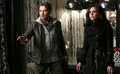 Sean Maguire and Lana Parrilla in Once Upon a Time Ouat, Once Upon A Time, Robin And Regina, Sean Maguire, Abc Tv Shows, Last Rites, Burning Questions, He Is Coming, Outlaw Queen