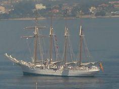 Juan Sabastian Elcano. Ship School of the Spanish Navy.