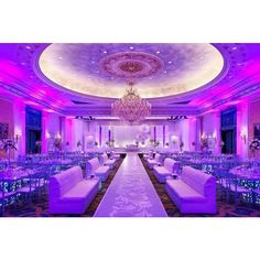 Breathtaking venue with exquisite lighting definitely make this luxurious wedding memorable!