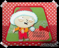 Stewie Griffin for Christmas...naughty again!
