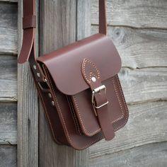 Leather Satchel Bag Small Messenger Bag Shoulder Bag