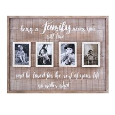Imax Family Collage Wall Frame