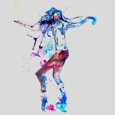 Tap Dancer drawing-Abstract on Etsy, $150.00