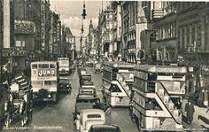 Street traffic in Berlin 1936