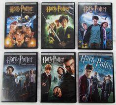 Lot of 6 DVD Harry Porter Movies Widescreen Dolby Digital 2001 to 2009 Philosophers Stone, Dolby Digital, Harry Potter, Movies, Ebay, Films, Cinema, Movie, Film