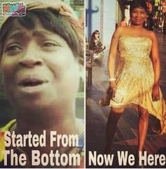 They Got Sweet Brown Started From The Bottom Memes Now?