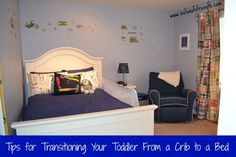 Transitioning toddler to full size bed and out of a crib, while maintaining your sanity, safety and your sleep!