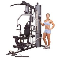 Body Solid G5Series Weight Stack Home Gym Machine - http://www.myhomegymequipment.com/home-gym-equipment/body-solid-g5series-weight-stack-home-gym-machine/