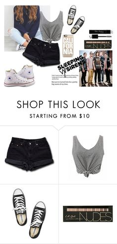 """""""sws"""" by nat-nat123 ❤ liked on Polyvore featuring Levi's, Converse, Christian Dior and Casetify"""