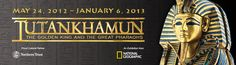 King Tut: The Exhibition   King Tut   Special Exhibits    May - Jan 2013 in Seattle... a must see for hubby & the redhead.