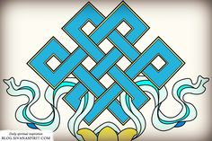 Of all the symbology in Buddhism, there is one that truly stands out: The endless knot.