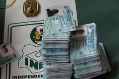 14,000 PVCs Missing in Rivers State – INEC   The Independent National Electoral Commission (INEC) in Rivers State has announced that no fewer than 14,000 yet-to-be distributed Permanent Voters' Cards (PVCs) are no longer in there custody as they   have been forcefully carted away by suspected party mercenaries across the state.  - See more at: http://firstafricanews.ng/index.php?dbs=openlist&s=13459#sthash.Fendtm8U.dpuf