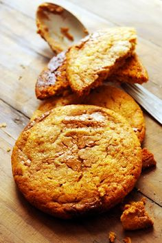 Caramel milk chocolate cookies - Recipe in English...