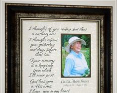 Celebrating the Special Moments in Your Life by PhotoFrameOriginals Personalized In Memory Of Memorial Frame Remembrance<br> Thank You Gift For Parents, Wedding Gifts For Parents, Wedding Thank You Gifts, Remembrance Quotes, Remembrance Gifts, Sympathy Poems, Sympathy Gifts, Condolence Gift, Wedding Picture Frames