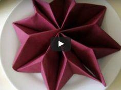 Metodi Per Piegare Tovaglioli.48 Fantastiche Immagini Su Piegare Tovaglioli Napkin Folding