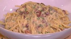 Classic Italian carbonara. This Morning's Gino di Campo. Gino cooks a traditional Carbonara, it is slightly different to how we would cook it in the UK. I'm definitely trying Gino's version next time