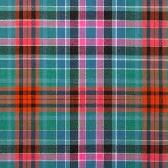 Gordon  Red Ancient Lightweight Tartan by the meter – Tartan Shop