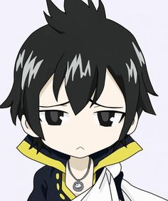 Chibi Zeref (Fairy Tail) He's too adorable! Why is he a villain? Natsu Fairy Tail, Fairy Tail Love, Fairy Tail Art, Fairy Tail Guild, Fairy Tail Anime, Fairy Tales, Erza Et Jellal, Zeref Dragneel, Anime Chibi