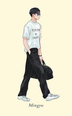 #Seventeen #Mingyu #Fanart