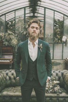 Blandin & Delloye Montreal Suits – [pin_pinter_full_name] Blandin & Delloye Montreal Suits Emerald Groom Suit, Green Wedding Suit, Boho Groom Inspiration, Edgy Groom Ideas Boho Groom, Groom Attire Rustic, Groom Style, Casual Groom Attire, Hipster Groom, Mens Attire, Beach Wedding Groom, Wedding Gifts For Bride And Groom, Wedding Men