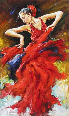 The movement and energy in this is just captivating! Andrew Atroshenko