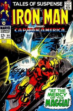Iron Man - Maggia - Captain America - At The Mercy Of Maggia - Water - Gene Colan
