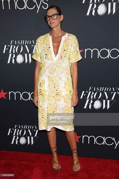 Creative director and president for J.Crew Jenna Lyons attends Macy's Presents Fashion's Front Row on September 7, 2016 in New York City.