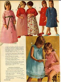 1966 Sears Christmas Catalog. I loved my quilted robe.