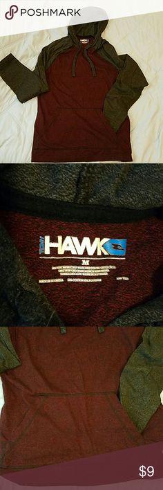 Tony Hawk Hoodie Tony Hawk Hoodie, 2 tone, front pockets, waist not gathered, draw strings for hood, worn once Tony Hawk Shirts Sweatshirts & Hoodies