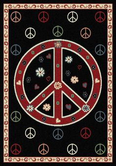 ☮ American Hippie Art ~ Peace Sign .. Wallpaper