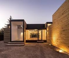 Image 13 of 38 from gallery of SIP House / Ian Hsü + Gabriel Rudolphy. Photograph by Aryeh Kornfeld Container Home Designs, Prefab Homes, Modular Homes, Minimalist Architecture, Modern Architecture, Sip House, Different House Styles, Sips Panels, Structural Insulated Panels