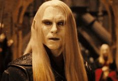 Luke Goss as Prince Nuada in Hellboy The Golden Army Fantasy Male, Fantasy Warrior, Hellboy The Golden Army, Liz Sherman, 2 Princes, Practical Effects, Dark Creatures, Mike Mignola, My Muse