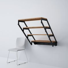 Made in Germany Swing table shelf multifunctional furniture unique design Folding Furniture, Smart Furniture, Modular Furniture, Space Saving Furniture, Living Furniture, Table Furniture, Furniture Makeover, Furniture Design, Furniture Ideas
