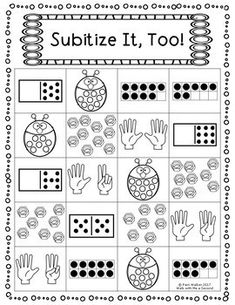 There are 4 pages of color by math worksheets in this product. These pages are fun and effective way to learn number, counting, addition and subtraction. Students can use crayons, colored pencils or markers. Pre- K Subitizing Activities, Kindergarten Math Activities, Numbers Kindergarten, Math Numbers, Preschool Math, Math Classroom, Math Resources, Math Games, Numeracy