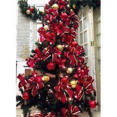 Kit Decoração Natalina - Árvore 1.50m + Enfeites - VERMELHO
