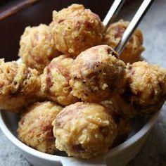 Buñuelos de atún, patata y queso Emmental | Recetas de carne | Recetas Lékué
