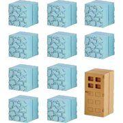 Minecraft Mine-Keshi Cobblestone /& Wooden Door Block Set