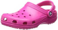 Crocs Classic, Unisex-Erwachsene Clogs, Pink  (Can
