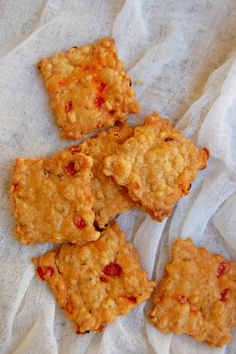 Pimento Cheese Squares Perfect snack to carry around!NaiveCookCooks.com