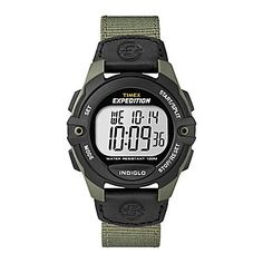 Timex® Expedition Mens Digital Chronograph Watch sale $39.96