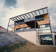 Glazed Facade Villa in Slovakia