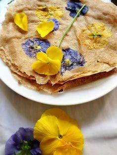 Flower Crêpes