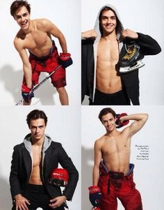 Hockey players...